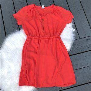 NWT Charming Charlie Coral Dress
